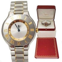 Cartier 21 Must de Cartier Gold/Steel 31mm Silver United States of America, North Carolina, Charlotte