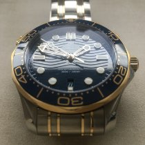 Omega 210.20.42.20.03.001 Gold/Steel 2018 Seamaster Diver 300 M 41mm pre-owned United States of America, Wisconsin