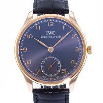 IWC Portuguese Hand-Wound occasion 44mm Gris Cuir