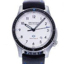 Bremont Boeing Acier 43mm Blanc