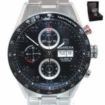 TAG Heuer Carrera Calibre 16 Steel 43.5mm Black United States of America, New York, Huntington