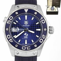 TAG Heuer Aquaracer 500M Steel 43mm Blue United States of America, New York, Lynbrook