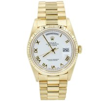 Rolex Day-Date 36 36mm Gold Roman numerals United States of America, Florida, Naples