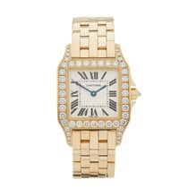 Cartier Santos Demoiselle pre-owned 25mm Silver Yellow gold