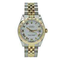 Rolex Lady-Datejust Золото/Cталь 31mm Золотой