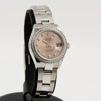 Rolex Lady-Datejust Acero 28mm Rosa Sin cifras