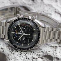 Omega Speedmaster Professional Moonwatch Moonphase Ocel 42mm Černá