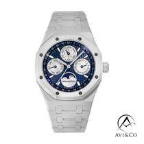 Audemars Piguet Royal Oak Perpetual Calendar Ceramic 41mm Blue No numerals United States of America, New York, New York
