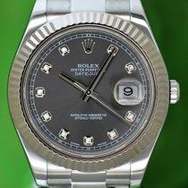 Rolex Datejust II Ατσάλι 41mm Ασημί Xωρίς ψηφία Ελλάδα, Athens