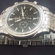 Omega De Ville Co-Axial Steel 41mm Black United Kingdom, Barnet,