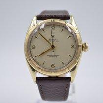 Rolex Bubble Back Zuto zlato 34mm Bez brojeva