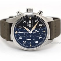 IWC Pilot Spitfire Chronograph Steel 41mm Black Arabic numerals United States of America, Florida, Aventura
