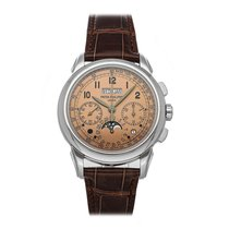 Patek Philippe 5270P-001 Platinum Perpetual Calendar Chronograph 41mm pre-owned United States of America, Pennsylvania, Bala Cynwyd