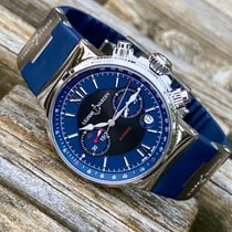 Ulysse Nardin Marine Chronograph Steel 41mm Blue United States of America, Wisconsin, Jefferson