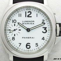 Panerai Luminor Marina Steel 44mm White Arabic numerals