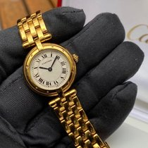 Cartier Cougar Zuto zlato 24mm Bjel