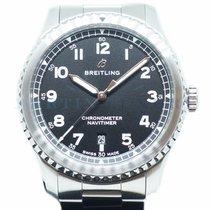 Breitling Navitimer 8 pre-owned 41mm Black Date Steel
