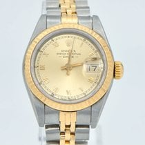 Rolex Lady-Datejust Or/Acier 26mm Or Romains