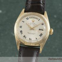 Rolex Day-Date 36 36mm Ασημί