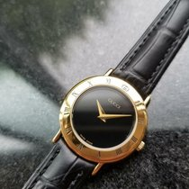 Gucci Жёлтое золото Кварцевые Чёрный 26mm подержанные