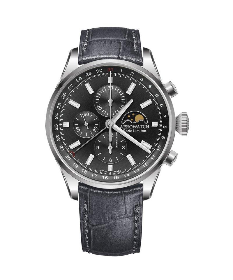 Aerowatch Les Grandes Classiques 69989-AA02 new