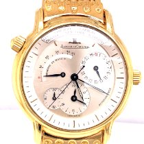 Jaeger-LeCoultre Master Geographic Or jaune 38mm Champagne Sans chiffres