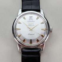 Longines Conquest Heritage Steel 34mm Silver No numerals