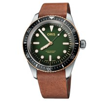 Oris Divers Sixty Five Steel 40mm Green United States of America, Texas, Plano