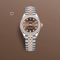 勞力士 Lady-Datejust 新的 2020 自動發條 附正版包裝盒和原版文件的手錶 279381RBR