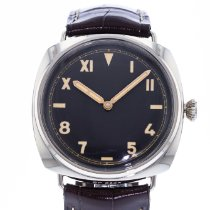 Panerai White gold Manual winding Brown 47mm pre-owned Special Editions