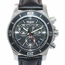Breitling Superocean Chronograph M2000 Acero 46mm Negro