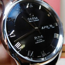 Omega De Ville Co-Axial Zeljezo 41mm Crn