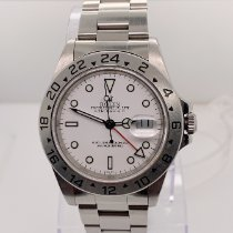 Rolex Explorer II Steel 40mm White No numerals United States of America, New York, New York