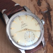 Omega Seamaster pre-owned 34.5mm Leather