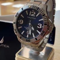 Nautica Acier 44mm Quartz A14545g nouveau
