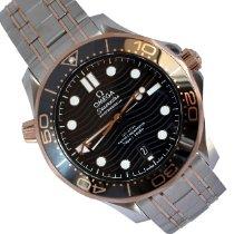 Omega 210.20.42.20.01.001 Or/Acier 2020 Seamaster Diver 300 M 42mm nouveau