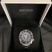 Seiko Prospex Çelik 45mm Mavi