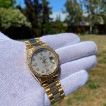 Rolex Day-Date 36 Yellow gold 36mm Mother of pearl No numerals United States of America, California, San Francisco