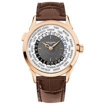 Patek Philippe 5230R-001 Oro rosa World Time 38.5mm nuevo