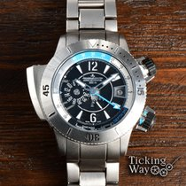 Jaeger-LeCoultre Master Compressor Diving Pro Geographic Titan 46mm Schwarz