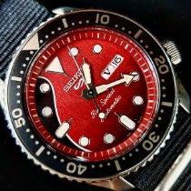 Seiko 5 Sports Steel 42.5mm Red