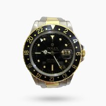 Rolex GMT-Master Gold/Steel 40mm Black No numerals Malaysia
