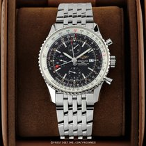 Breitling Navitimer World Steel 46mm Black United States of America, New York, Airmont