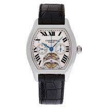 Cartier Tortue Platinum 39mm White Roman numerals United States of America, Florida, Surfside
