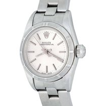 Rolex Oyster Perpetual Steel 25mm Silver No numerals United States of America, Texas, Dallas
