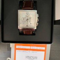 Hamilton Jazzmaster Auto Chrono occasion 40,5mm Blanc Chronographe Date Cuir
