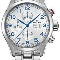 Delma Steel 45mm Automatic Pioneer 41701.580.6.062 new