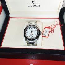 Tudor Grantour Date Steel 42mm White