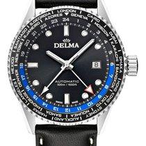 Delma Cayman Worldtimer 41601.710.6.031 nou