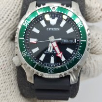 Citizen Promaster Marine pre-owned 42mm Black Date Weekday Plastic
